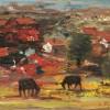 """Само в галерия """"Лоранъ"""":Вижте как Майстора нарисува майстора на пейзажа Слави Генев"""