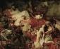 Вежди вкарва тайно картина на Дьолакроа