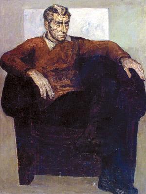 Райнов Богомил портрет от Светлин - чело