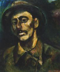 Борис Иванов автопортрет