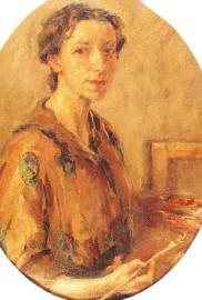 Елена Карамихайлова автопортрет