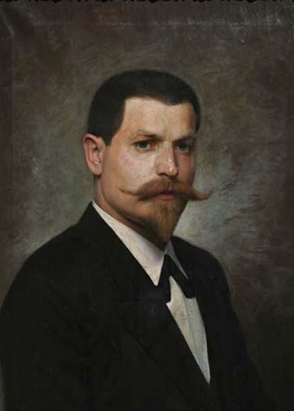 Петко Клисуров автопортрет
